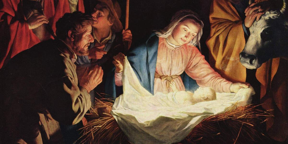 İsa'nın Doğumunu simgeleyen tablo