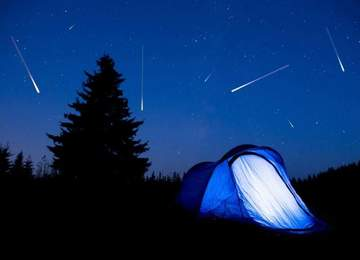 Meteor Yağmuru ve Kamp