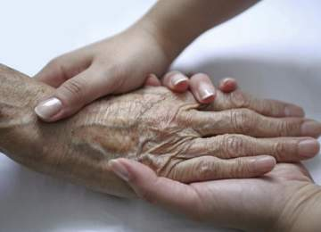 Yaşlanmış Eller
