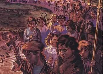 çocuk haçlılar