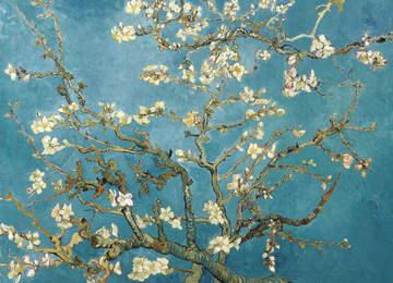 Vincent van Gogh - Çiçek Açan Badem Ağacı Tablosu