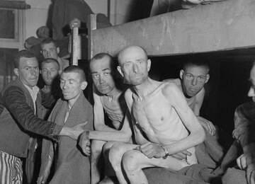 Polonya'da bir toplama kampı