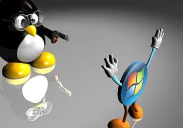 Linux ve Windows karşılaşması