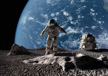 Ay, AStronot ve Dünya