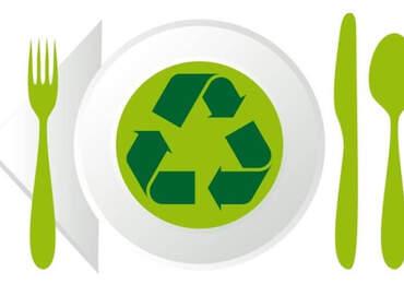 yeşil restoran hareketi simgesi