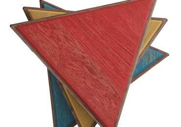renkli üçgenler