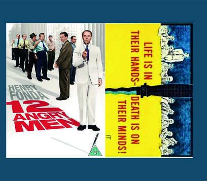 12 Kızgın Adam Film Posteri