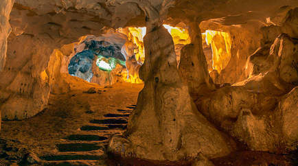 Karain Mağarası İçi