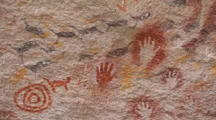 Arjantin, Eller Mağarası