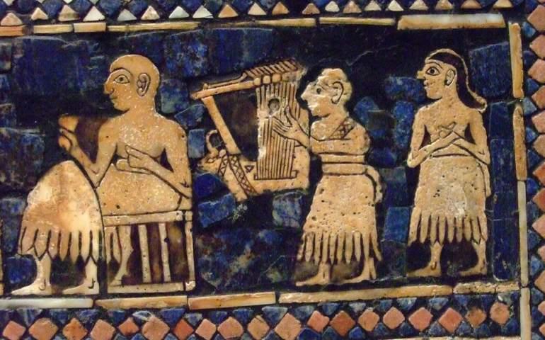 Eski Çağlarda Müzik Tasviri