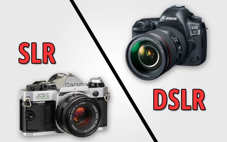 SLR vs DSLR
