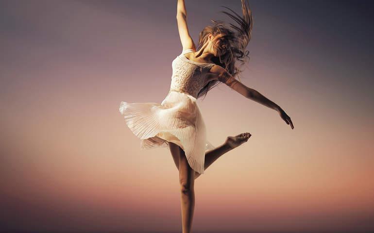 dans eden illüstrasyonlar