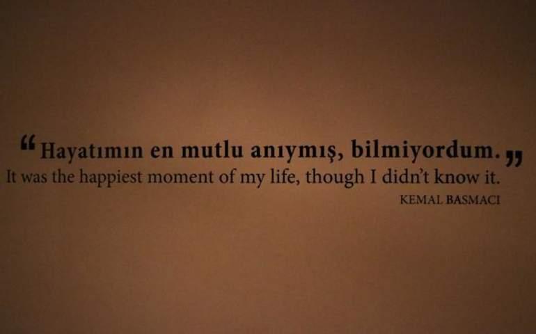 Kemal Basmacı Sözü
