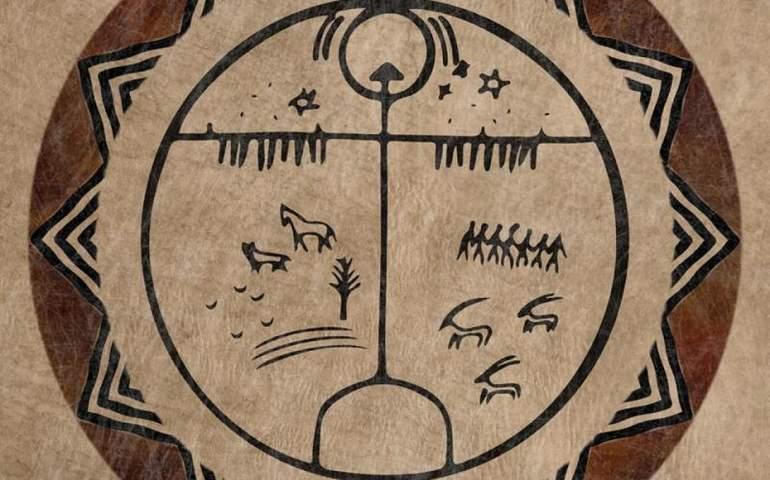 şaman davulu