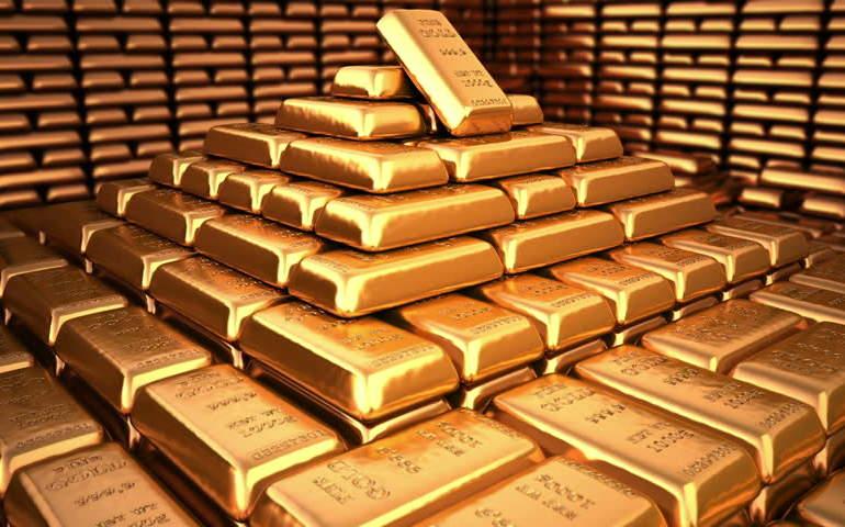Külçe altınlar