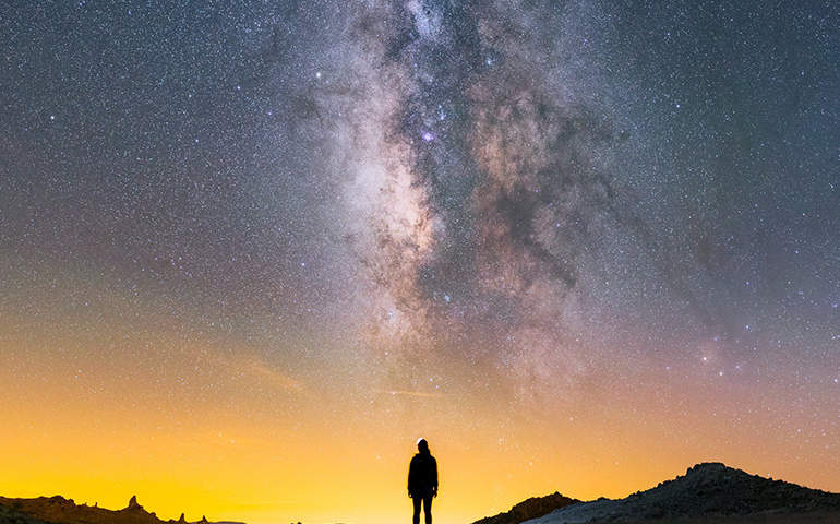 Dünya'dan Samanyolu Galaksisi